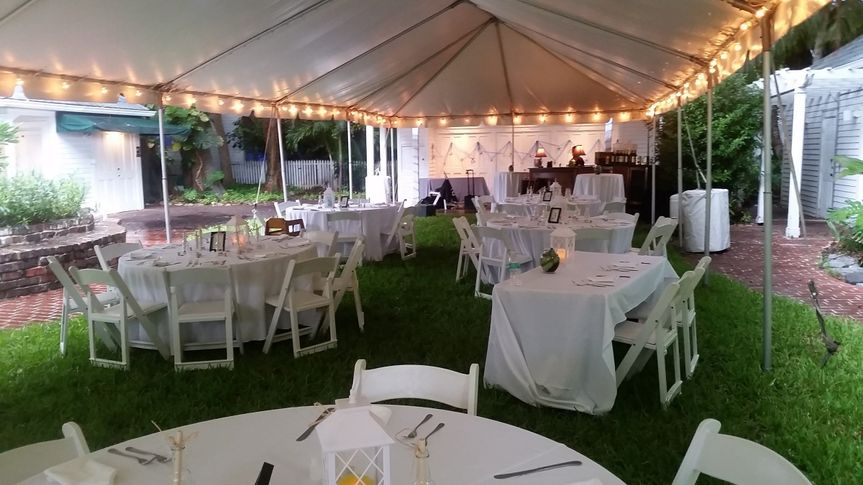 Available tent rentals