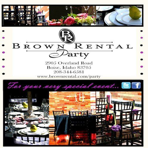 Apartment Rental Ads: Brown Rental Party