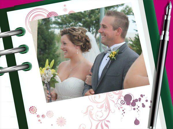 Wedding at a small park -- Carol Stream, Illinois