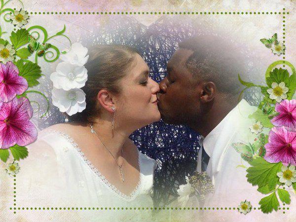 Wedding in the couple's backyard -- Romeoville, Illinois