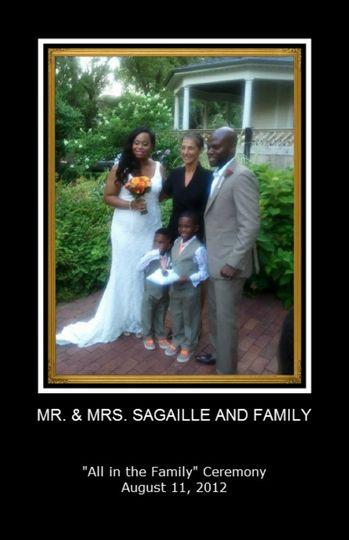 Wedding at the Warner Park & Gardens -- Chicago, Illinois