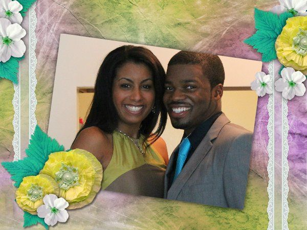 Wedding at the couple's apartment -- Chicago, Illinois