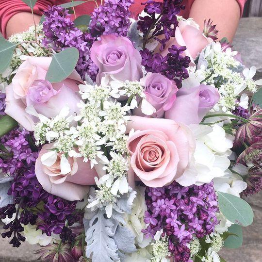 Purple arrangements
