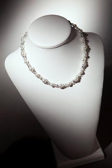 Amanda Necklace  Pearls available in 35 colors