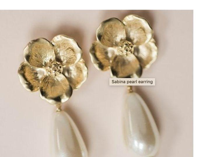 Tmx Flower And Pearl Earring Faye Daniel Designs Bridal Jewelry Bridal Accessories 51 37137 157842588621830 Bel Air, MD wedding jewelry