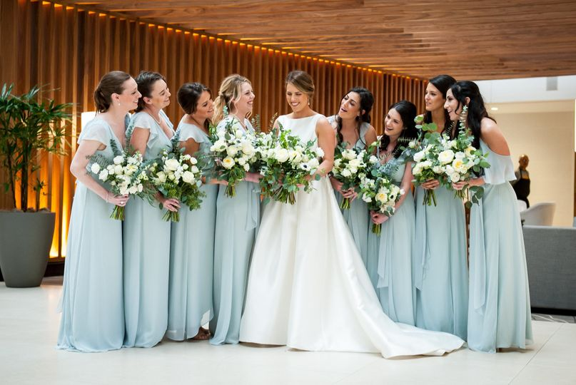 Bridal Party by Kathy Blanchard Photography