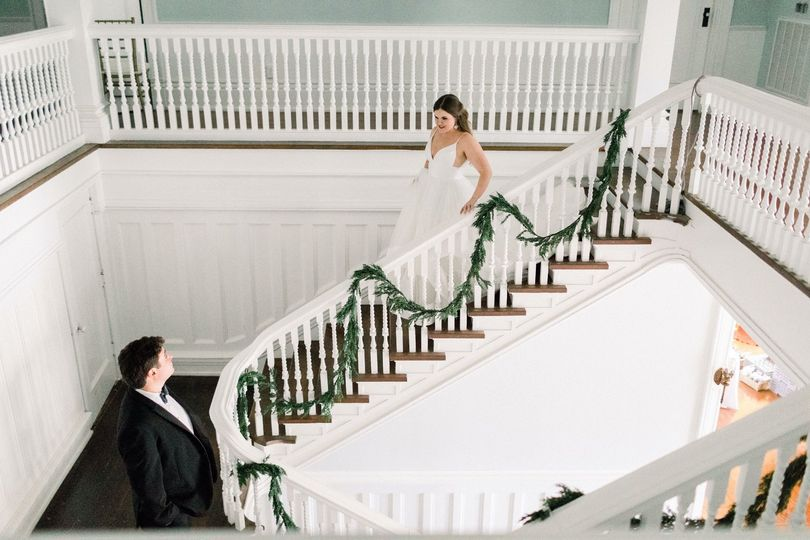 First Look on the Staircase