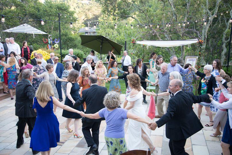 Dancing & celebrating