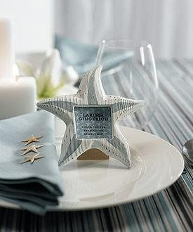 Starfish Photo Frame Placecard #8460