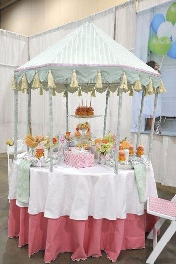 Cupcake Bridal Tablescape