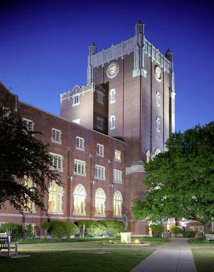 Exterior view of Oklahoma Memorial Union, The University of Oklahoma