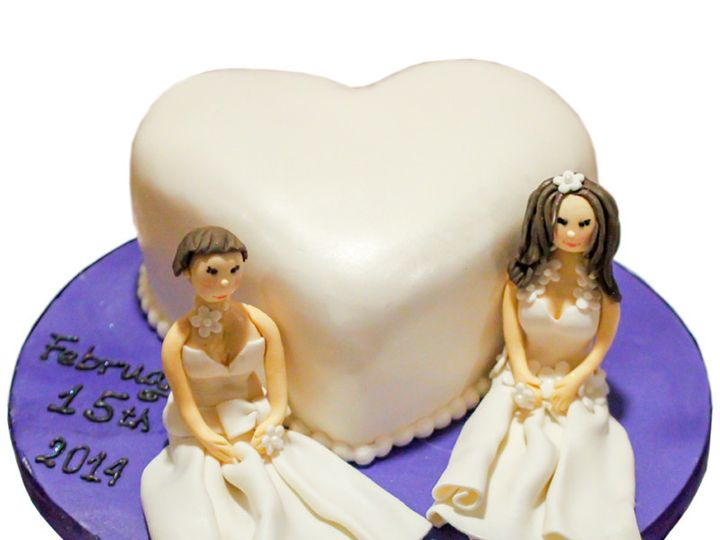 Tmx 1432744065112 Two Brides Wedding Cake Huntingdon Valley, PA wedding cake