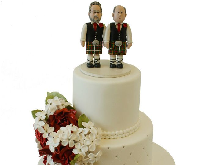 Tmx 1432744082833 Wedding Cake With Two Scotts Huntingdon Valley, PA wedding cake