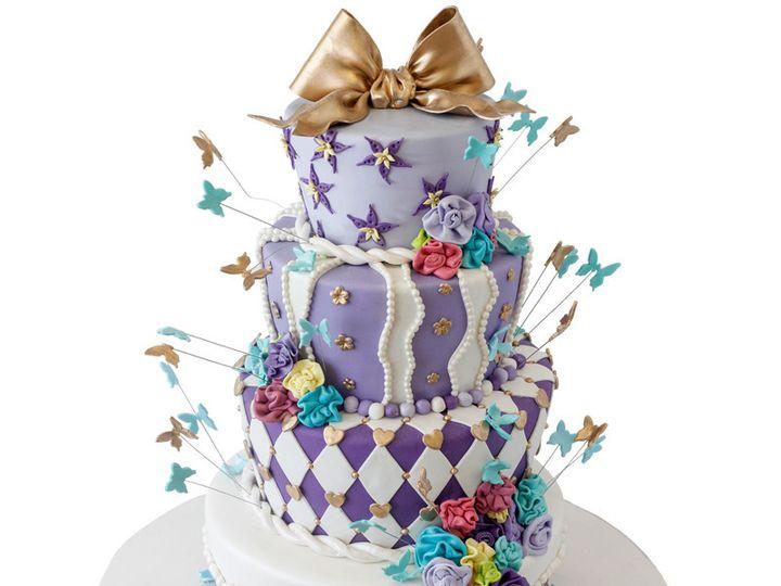 Tmx 1443129420558 Alice In Wonderland Themed Wedding Cake Huntingdon Valley, PA wedding cake