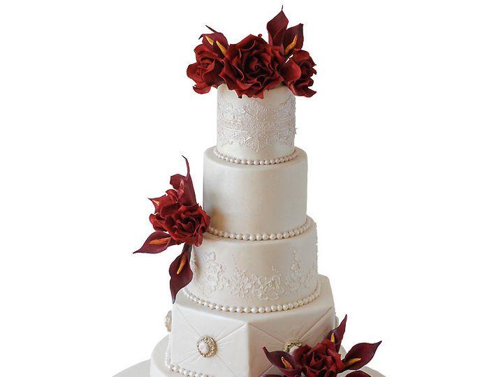 Tmx 1443130159817 Black Magic Rose Wedding Cake Huntingdon Valley, PA wedding cake