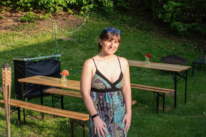 Owner and event coordinator, Abby