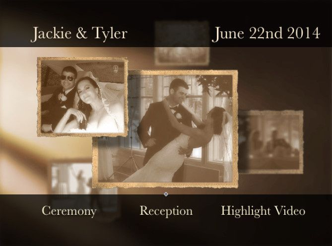 Tmx 1483199989088 Dvd Menu Demo 2 Norwalk, CT wedding videography