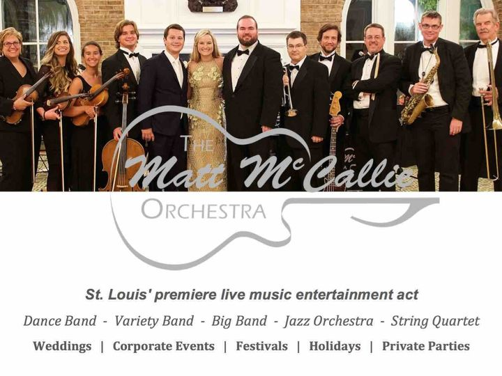 Tmx 1472550043941 St Louis Wedding Music The Matt Mccallie Orchestra Dittmer wedding band
