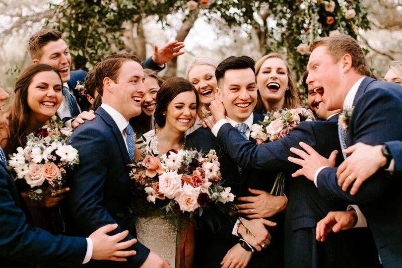 Wedding Party Love
