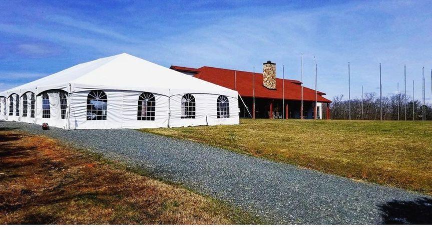 Venue Services Tent