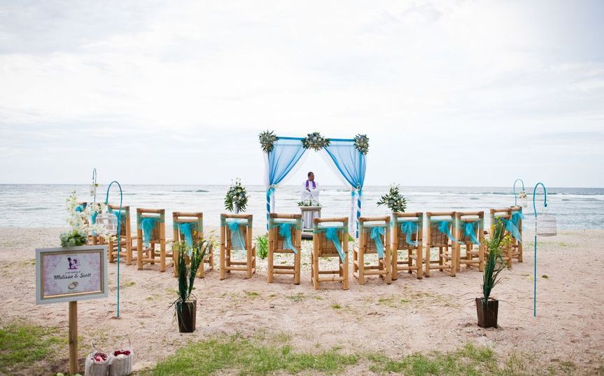 Beach wedding vennue
