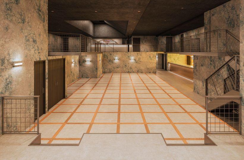 Main Room & Mezzanine - empty