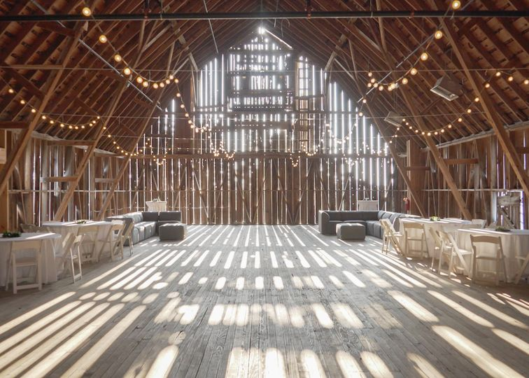 Barn dance hall
