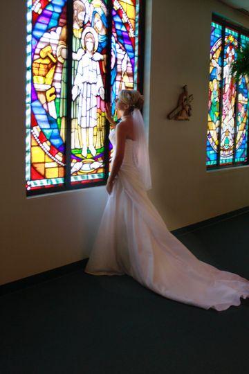 Stain glass bride