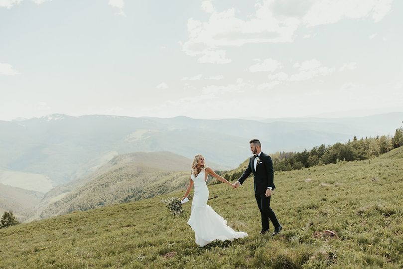 Holy Cross Wedding Deck, Vail