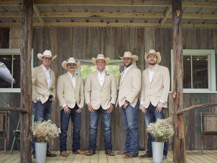 Tmx 1529105816 F53fcf0b9396f352 1529105812 05d14aa9244b99a6 1529105764973 37 Groomsmen On Porc Temple, TX wedding venue