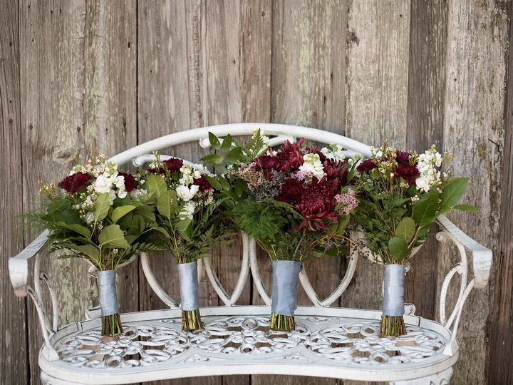 Tmx Bouquets On Bench Silo And Oak Melody C Photography 51 978237 1558123828 Temple, TX wedding venue
