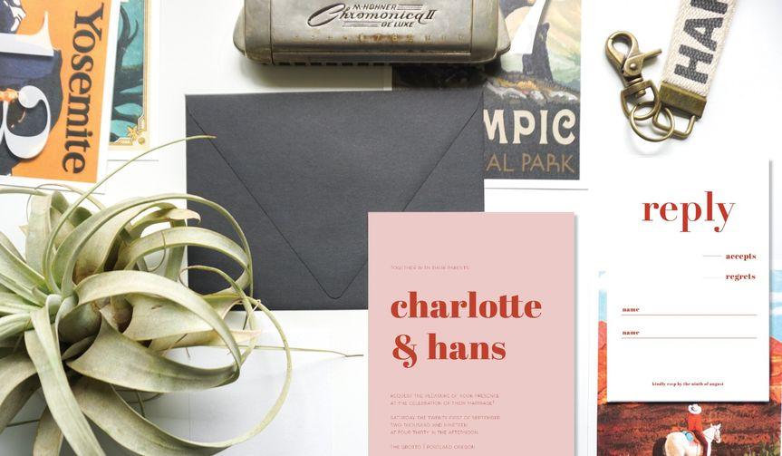 Charlotte + Hans