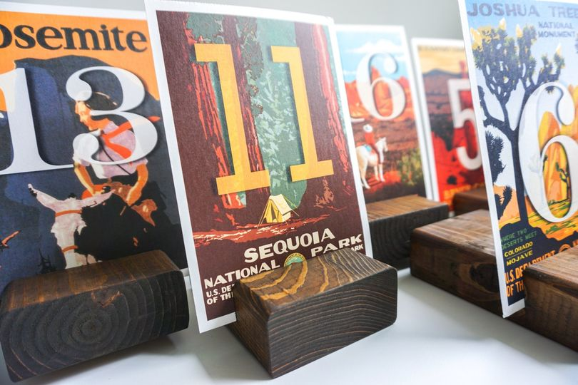 Adventure table numbers