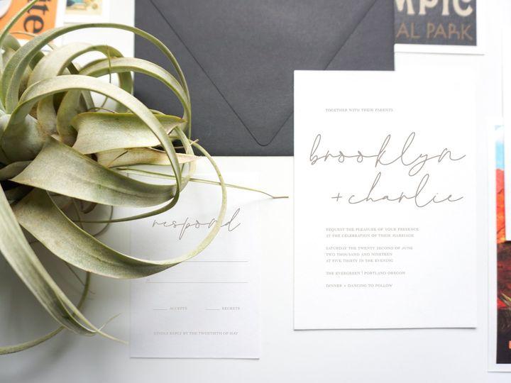 Tmx Brooklynn Charlieinsta Copy 51 1059237 1555621707 Portland, OR wedding invitation