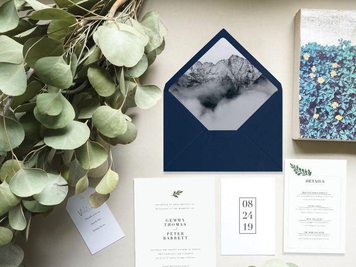 Tmx Gemma Mockup2 51 1059237 1555621753 Portland, OR wedding invitation