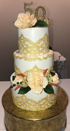 M&T Events Custom cakes - Wedding Cake - Woodbridge, VA - WeddingWire
