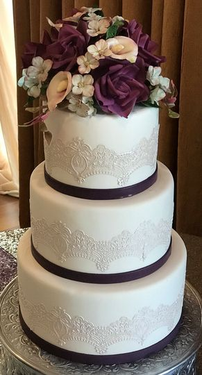 Rustique lace cake
