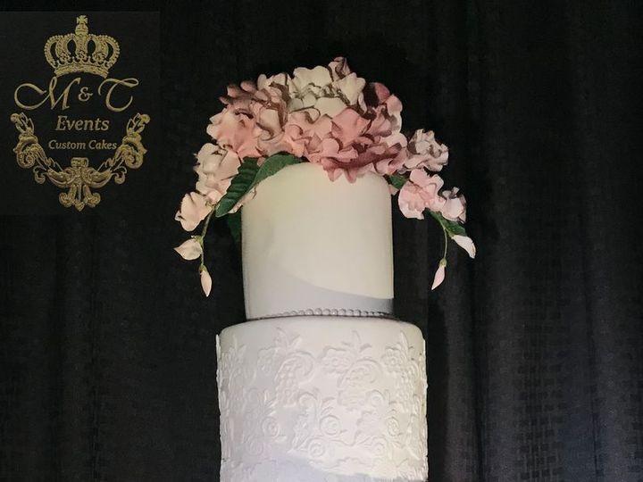 Tmx 1516480039 Ff48df88aab96e4b 1516480038 015a46efa2e50770 1516480037046 10 Painted Cake Woodbridge, District Of Columbia wedding cake
