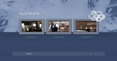 Scene Selection BluRay