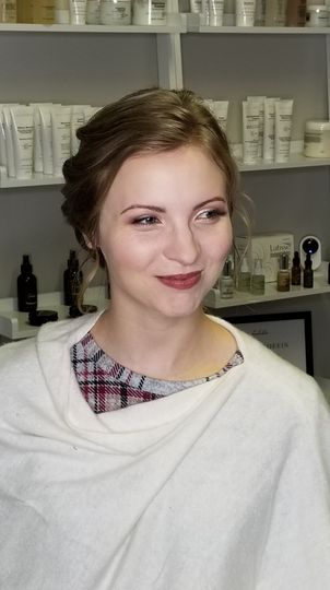 Make-up and hair by Nikki