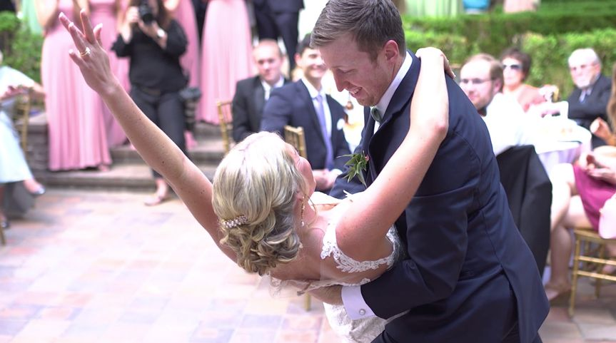 First dance at The Lace House
