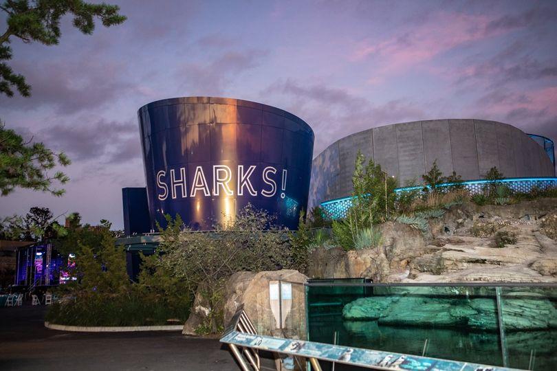 Exterior of the aquarium