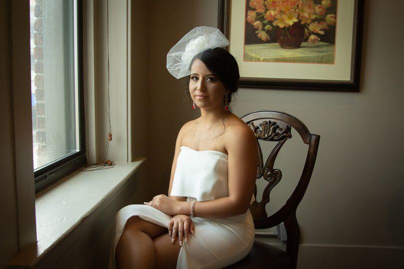 Private bridal shoot