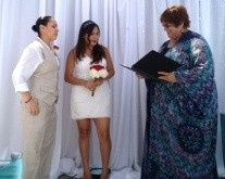 fatima and noeli ceremony