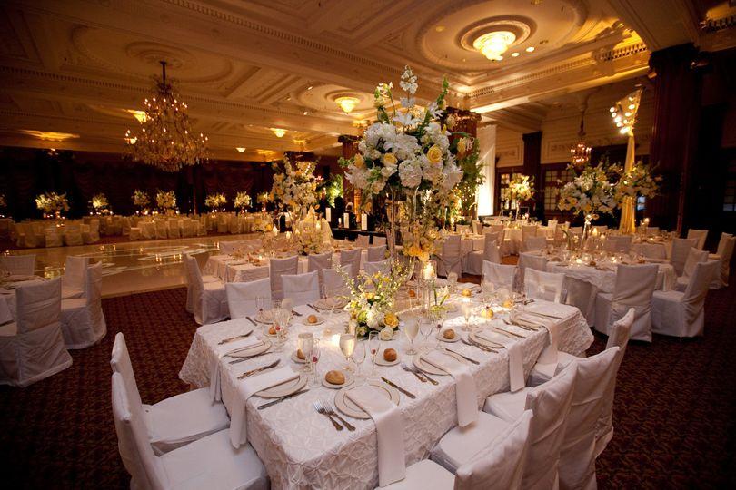 ctr wedding rectangle table