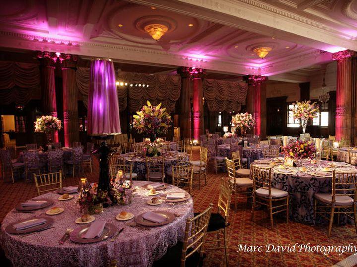 Tmx 1424811430505 Wedding Purple Uplights 2 Philadelphia, Pennsylvania wedding venue