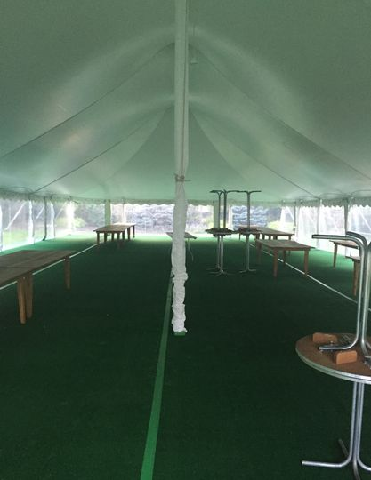 Flooring and pole covers
