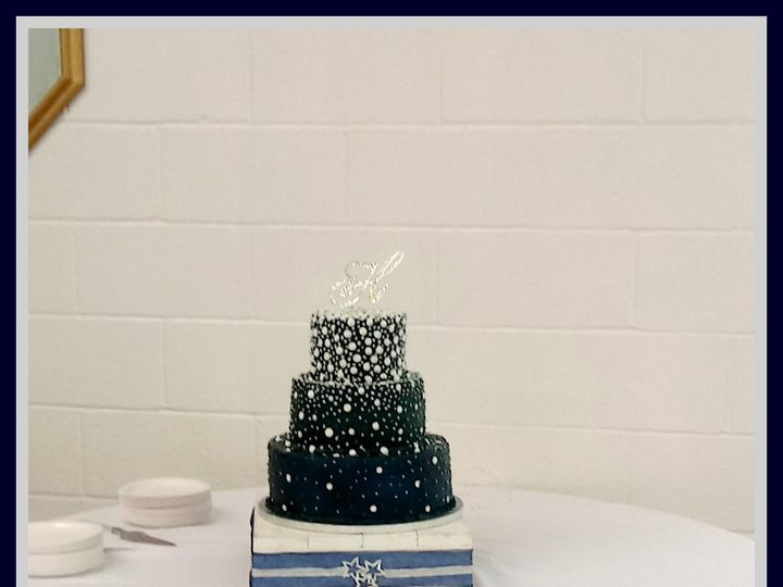 Tmx 1500566084607 0507171403burst01 Mc Leansville, North Carolina wedding cake