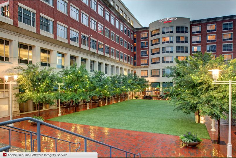 The Village Green at the Courtyard Greenville Downtown