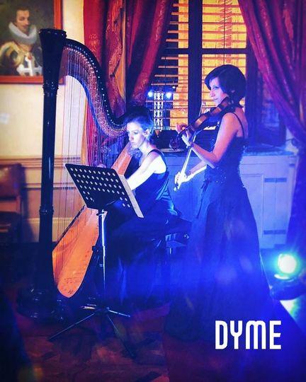 Harp & Violin DYME